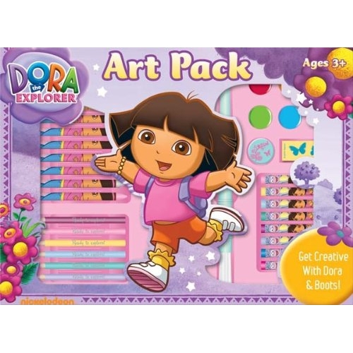 Dora The Explorer Activity Pack Stationery