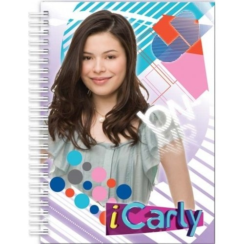 Icarly 'A5 Wiro' Hard Cover Notebook Stationery