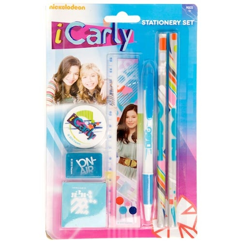 Icarly Nickelodeon Stationery Set