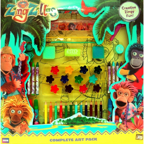 Zingzillas 66 Pc Complete Art Pack Stationery