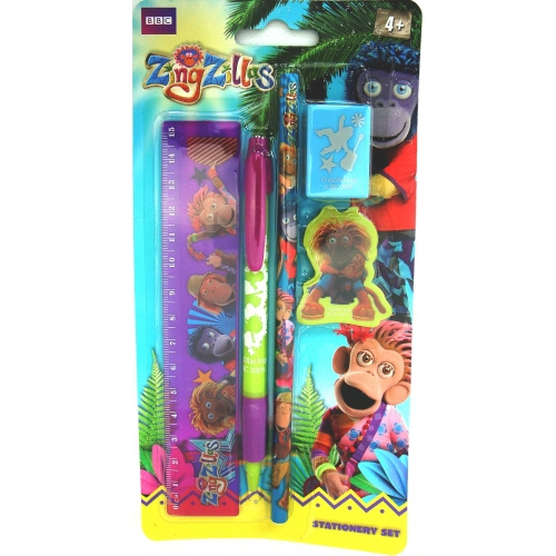 Zingzillas Stationery Set