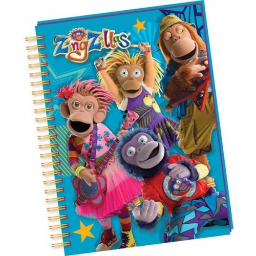 Zingzillas Notebook Stationery