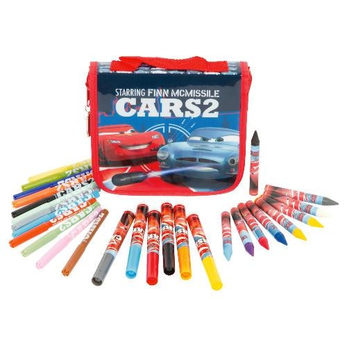Disney Cars 2 Colouring Bag Stationery