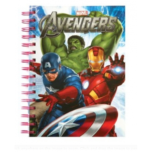 The Avengers 'Hulk,iron Man, Captain America' A5 Notebook Stationery