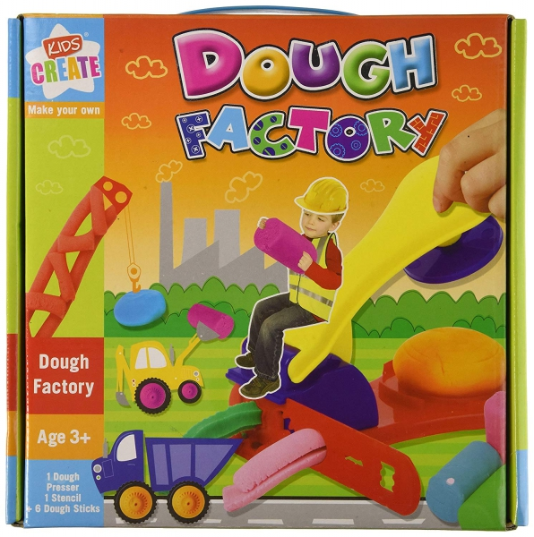 Kids Create Make Your Own 'Dough Factory' Dough Creativity