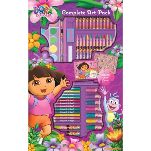 Dora The Explorer Complete Art Pack Stationery