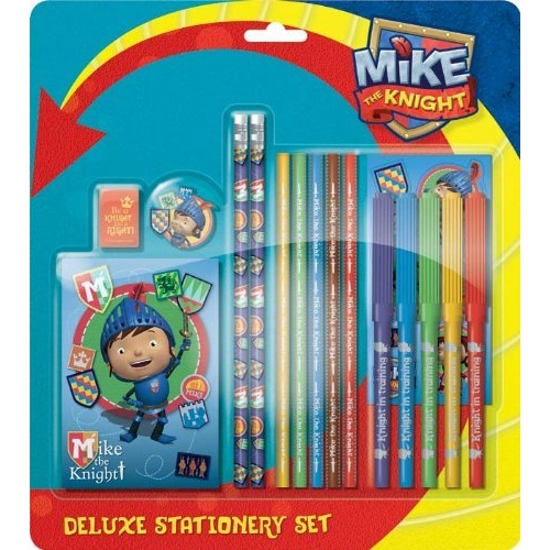 Mike The Knight Deluxe Stationery Set