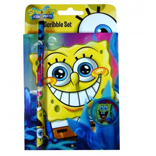 Spongebob Squarepants Scribble Set Stationery