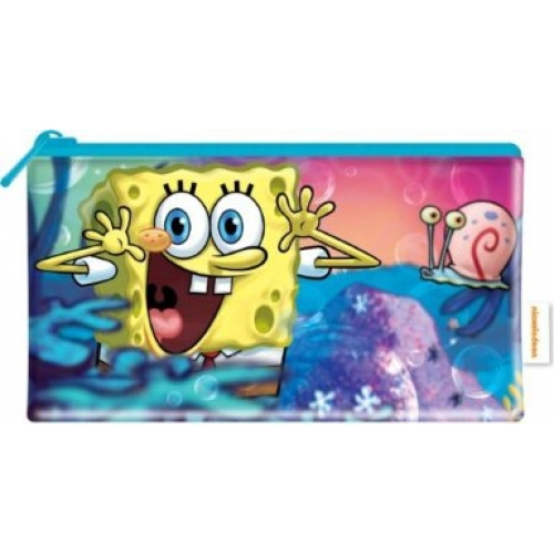 Spongebob Squarepants Flat Pencil Case Stationery