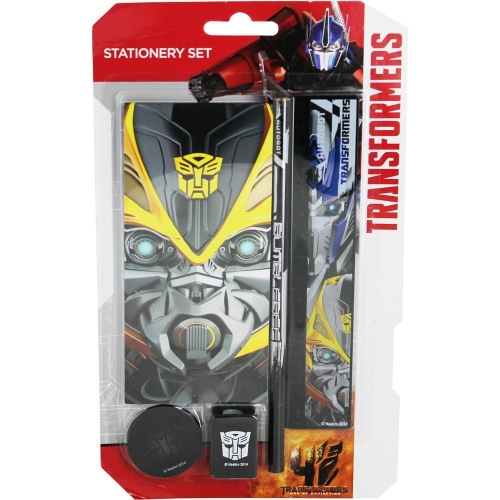 Transformers 'Autobot' 5 Piece Stationery Set
