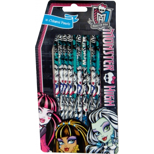 Monster High Colouring Pencils Stationery