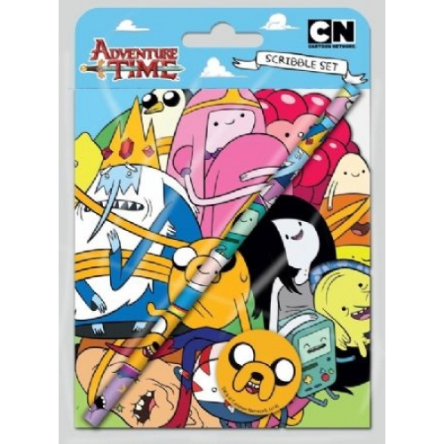 Adventure Time Scribble Set Stationery