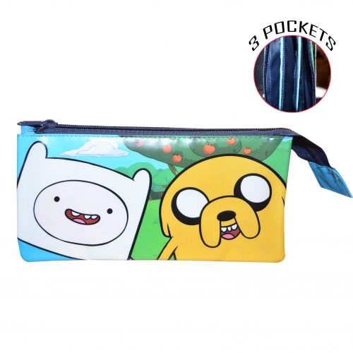 Adventure Time 'Friends' Multi Pocket Pencil Case Stationery