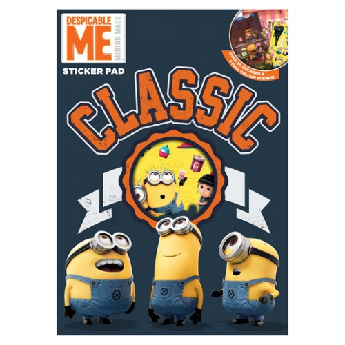 Despicable Me Minions Sticker Pad Stationery