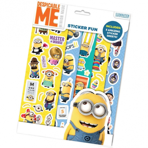 Despicable Me Stciker Fun Sticker Stationery