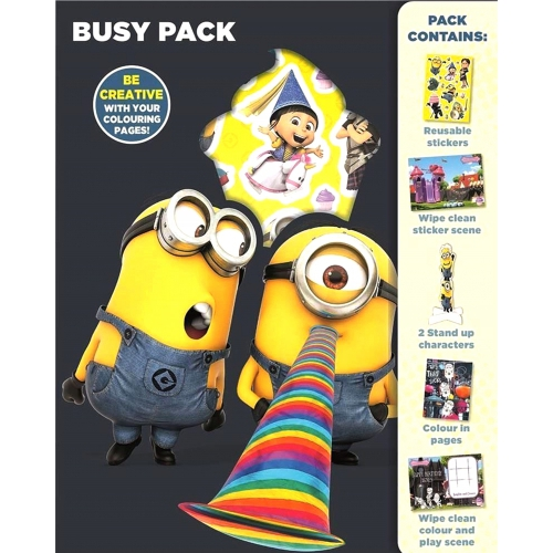 Despicable Me Busy Pack Sticker Stationery