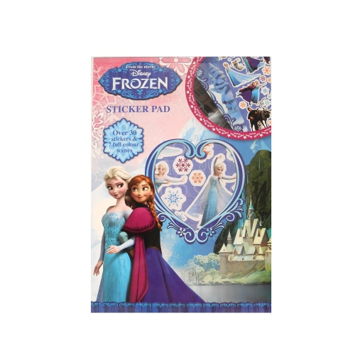 Disney Frozen Anna, Elsa & Olaf Sticker Pad Stationery