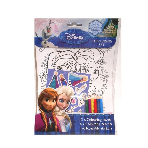 Disney Frozen Colouring Set Stationery