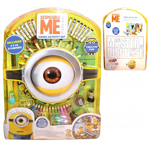 Despicable Me Minions Jumbo Activity Set Stationery