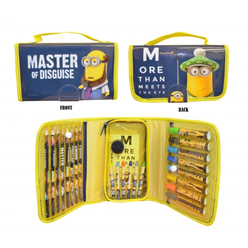 Despicable Me Minions Colouring Bag Stationery