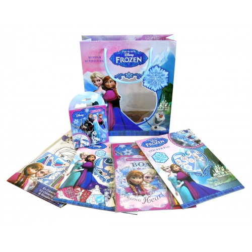 Disney Frozen Bumper Activity Bag Stationery