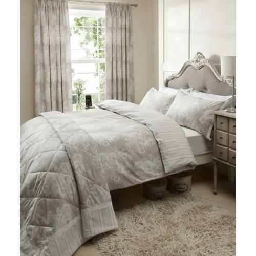 Catherine Lansfield Versailles Multi Half Set Bedding Super King Duvet Cover
