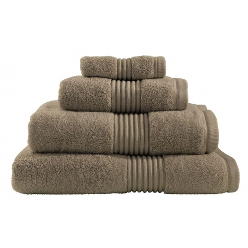 Towel Catherine Lansfield Zerotwist 550gsm Mink Plain Face