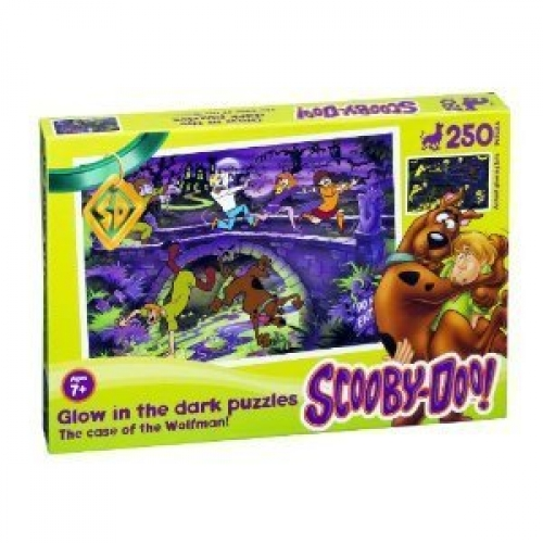 Scooby Doo 'Wolfman' 250 Piece Jigsaw Puzzle Game