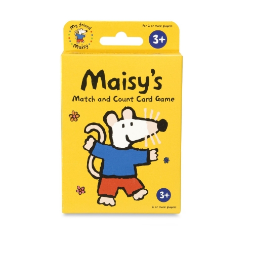 Maisy'S ' Match and Count' Giant Card Game Puzzle