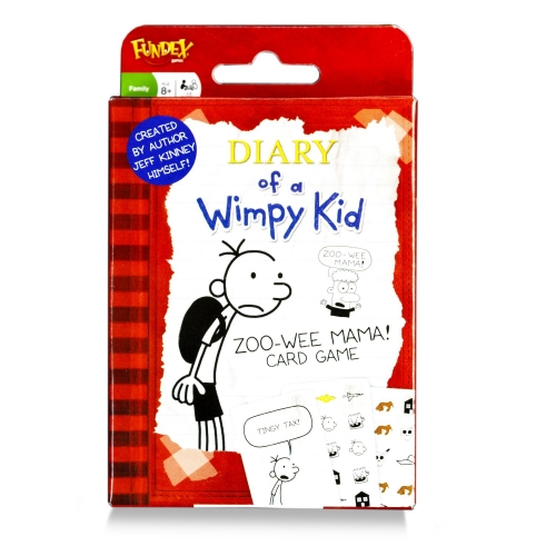 Diary of a Wimpy Kid 'Zoo Wee Mama'' Giant Card Game Puzzle