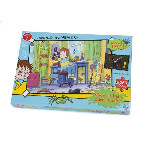 Horrid Henry 'Homework' 250 Piece Jigsaw Puzzle Game
