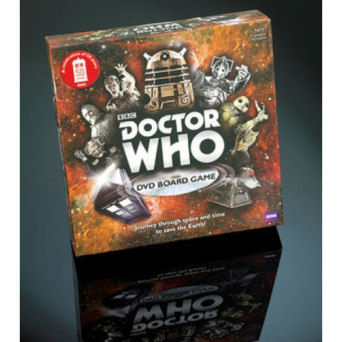 Doctor Who Dvd Board Game 50th Anniversary Edition Puzzle