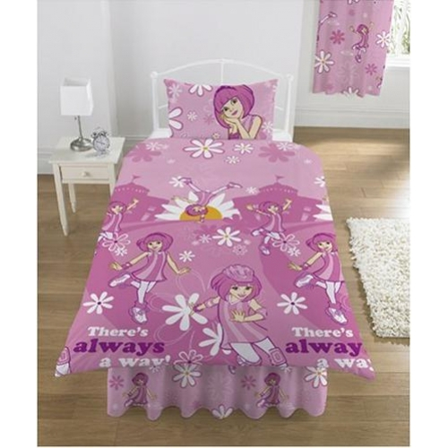 Lazy Town Stephanie Rotary Single Bed Duvet Quilt Cover Set