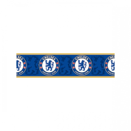Chelsea 5 Metre Paper Border Fc Football Official Wall Decoration