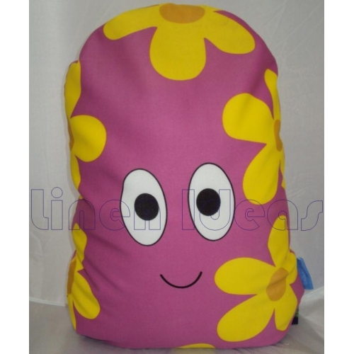In The Night Garden Yellow Haho Printed Cushion