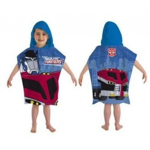 Transformers Animated Poncho Towel