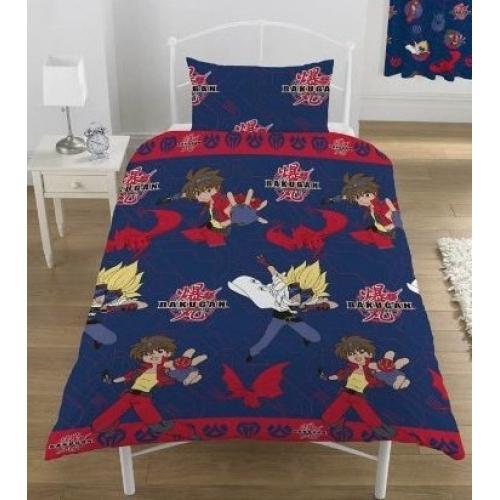 Bakugan Rivals Rotary Single Bed Duvet Quilt Cover Set