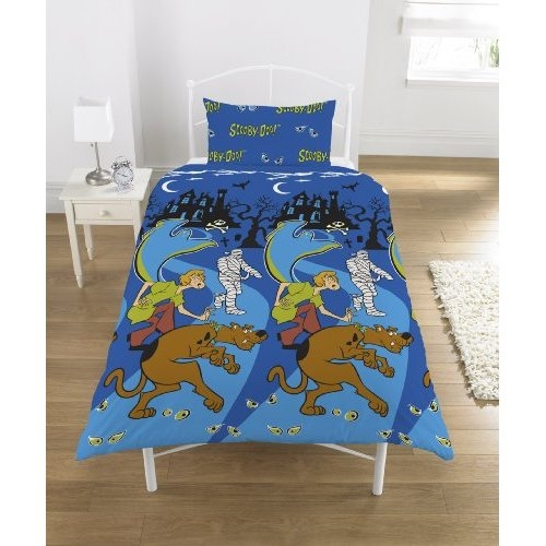Scooby Doo 'The Mummy' Rotary Single Bed Duvet Quilt Cover Set