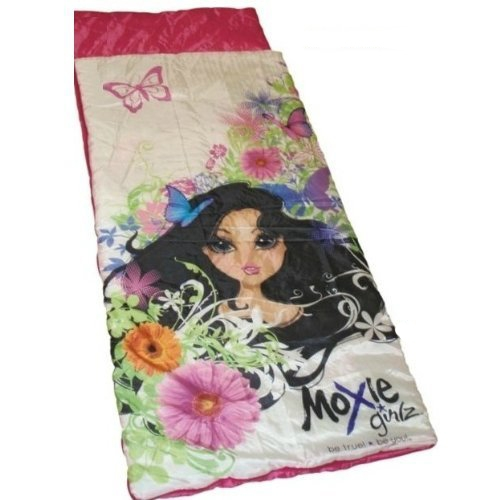 Moxie Girlz 'Be True Be You' Sleeping Bag Camping Travel Sleepover Sac