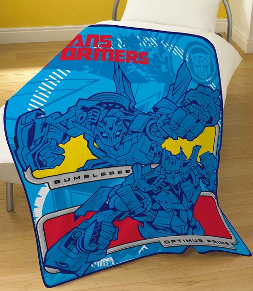 Transformers 3 Bumblebee Panel Fleece Blanket Throw