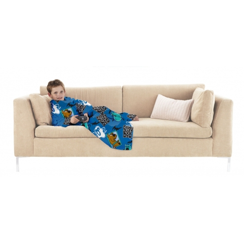 Scooby Doo Cosy Wrap Blanket Sleeved Fleece