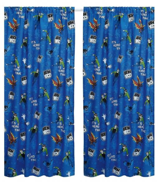 Ben 10 'Universe' 66 X 54 inch Drop Curtain Pair