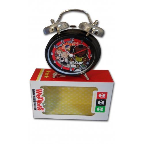 Weenicons 'Fool' Twin Bell Alarm Clock