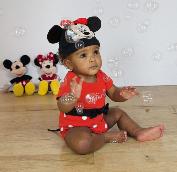 Disney Minnie Mouse 0-3 Months Bodysuit