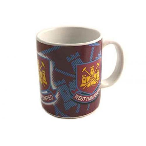 West Ham United Fc Football Mug Official