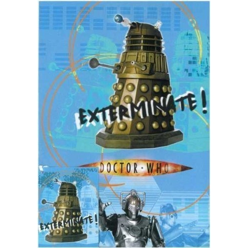 Doctor Who 'Exterminate' Gift Wrap Decoration