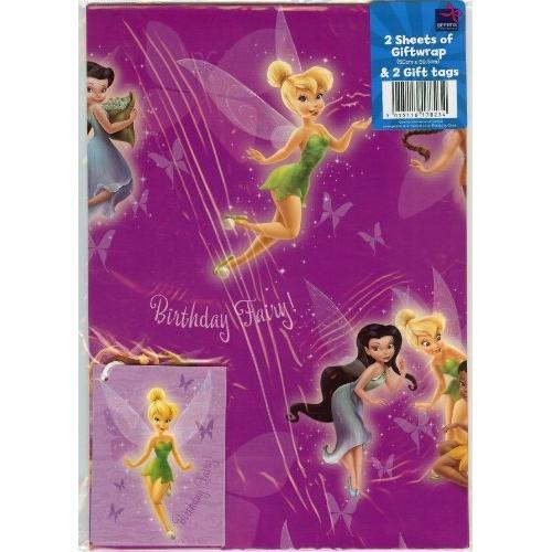 Disney Fairies 'Tink' Gift Wrap Decoration