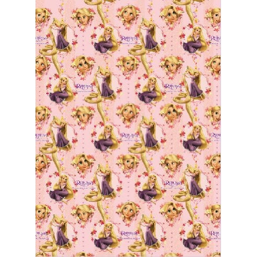 Disney Tangled Rapunzel Gift Wrap Decoration