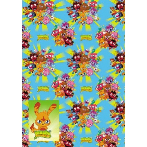 Moshi Monsters Gift Wrap Decoration