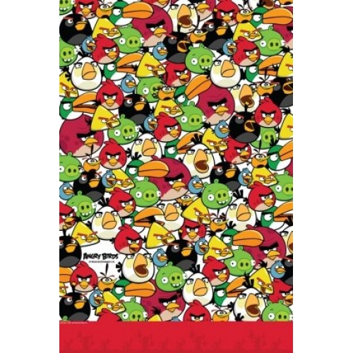 Angry Birds Tablecover Party Accessories